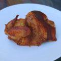 Kurczak pieczony połowa