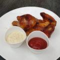 Kurczak z rożna pieczony połowa